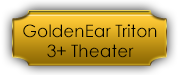 GoldenEar Triton 3+ Home Theater