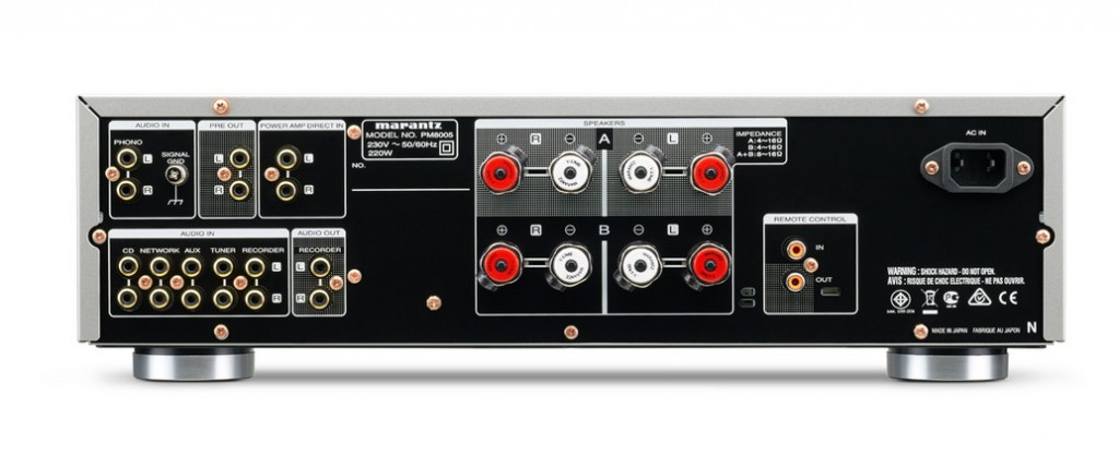 Marantz PM-8005 back