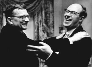 Shostakovich and Rostropovich