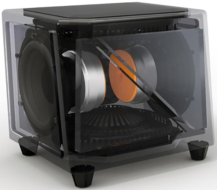SuperSub X cutaway